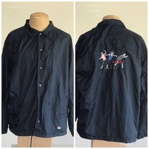 Vtg Mens Dickies DANCE windbreaker XL